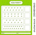 how many counting game with... | Shutterstock .eps vector #2004804863