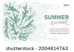 floral pattern background for... | Shutterstock .eps vector #2004814763