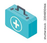 medical kit first aid icon