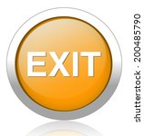 exit icon | Shutterstock .eps vector #200485790