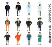 people professions characters... | Shutterstock . vector #2004908090