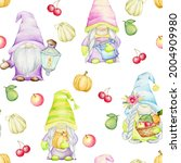 Cute Gnomes  Fruits  Vegetables ...