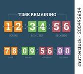 Countdown Mechanical Clock On...