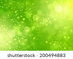 Blurred Green Abstract...