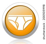 underwear button | Shutterstock .eps vector #200505998