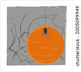 an image of a black spider  an... | Shutterstock .eps vector #2005099949