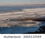 Pacific Ocean At Morro Bay ...
