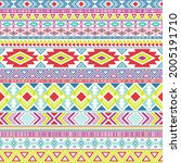 aztec american indian pattern...   Shutterstock .eps vector #2005191710