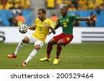 Постер, плакат: Neymar of Brazil and