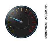 speedometer   Shutterstock .eps vector #200535704