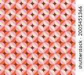 70s retro geometric vector... | Shutterstock .eps vector #2005451366