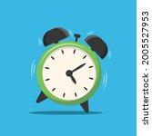 alarm clock isolated on... | Shutterstock .eps vector #2005527953