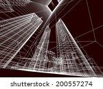 city buildings | Shutterstock . vector #200557274