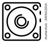 sound loud speaker icon....   Shutterstock .eps vector #2005612010