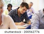 student in class | Shutterstock . vector #200562776