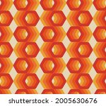 retro seamless pattern from the ... | Shutterstock .eps vector #2005630676
