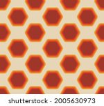 abstract seamless ornament in... | Shutterstock .eps vector #2005630973
