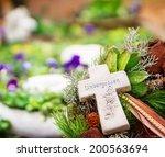 grave jewelry  unforgotten    Shutterstock . vector #200563694