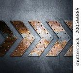 metal background | Shutterstock . vector #200566889