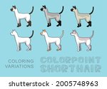 cat colorpoint shorthair...   Shutterstock .eps vector #2005748963