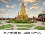 Wat Bang Thong Golden Pagoda At ...