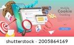 3d vector conceptual... | Shutterstock .eps vector #2005864169