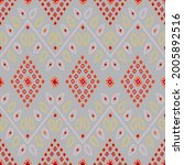 seamless vector bandhani design ... | Shutterstock .eps vector #2005892516