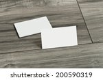 blank corporate identity... | Shutterstock . vector #200590319