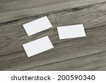 blank corporate identity... | Shutterstock . vector #200590340