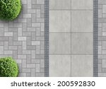 exterior detail in aerial view... | Shutterstock . vector #200592830