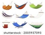 collection of tissue hammocks... | Shutterstock .eps vector #2005937093