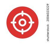 target  aim  focus icon vector... | Shutterstock .eps vector #2006023229