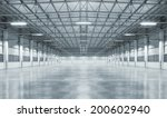 factory building or warehouse... | Shutterstock . vector #200602940