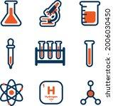 chemistry icon set   amazing...   Shutterstock .eps vector #2006030450