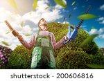 gardening master | Shutterstock . vector #200606816
