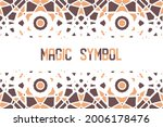 abstract geometric background... | Shutterstock .eps vector #2006178476