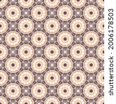 seamless texture with arabic... | Shutterstock .eps vector #2006178503