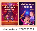 children theater posters with... | Shutterstock .eps vector #2006229659