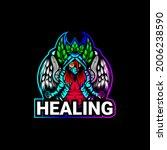 woman healing logo  sport and e ...   Shutterstock .eps vector #2006238590