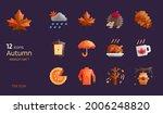 autumn season flat design icon...   Shutterstock .eps vector #2006248820