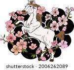 horse illustration for printing ...   Shutterstock .eps vector #2006262089