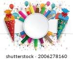 white paper banner  emblem ...   Shutterstock .eps vector #2006278160