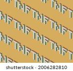 summer seamless geometric...   Shutterstock .eps vector #2006282810