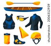 Canoeing Or Kayaking Equipment  ...