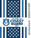 u.s. coast guard day in united...   Shutterstock .eps vector #2006315309