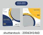 modern social media post...   Shutterstock .eps vector #2006341460