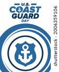 u.s. coast guard day in united...   Shutterstock .eps vector #2006359106