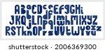 abstract geometric original... | Shutterstock .eps vector #2006369300