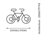 bicycle linear icon. taiwan...   Shutterstock .eps vector #2006379743