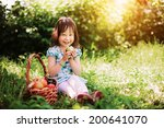little girl. | Shutterstock . vector #200641070